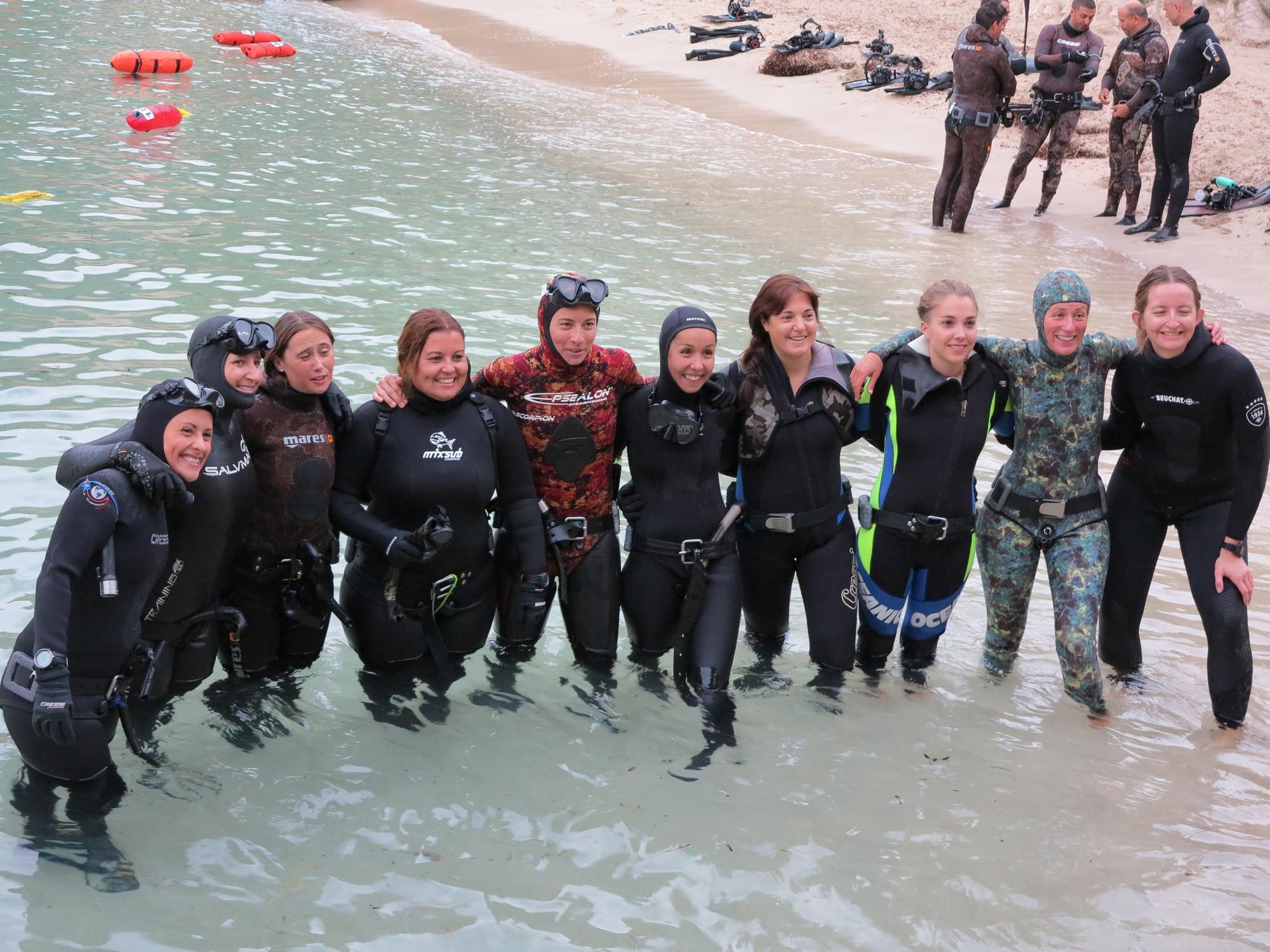 22__Las chicas participantes