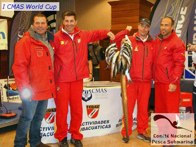 Capturas de la Selección Española
