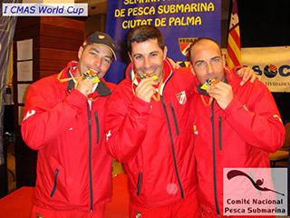 España vence en la I CMAS World Cup