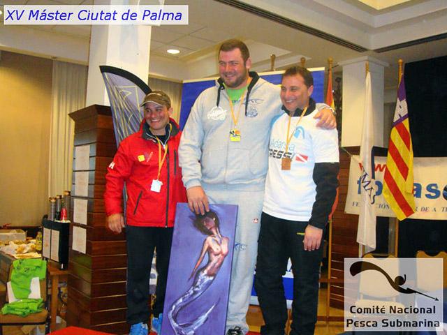 Master Ciutat Palma 2016 podio