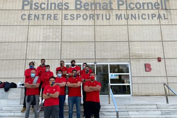 Selección Masculina rugby subacuático España