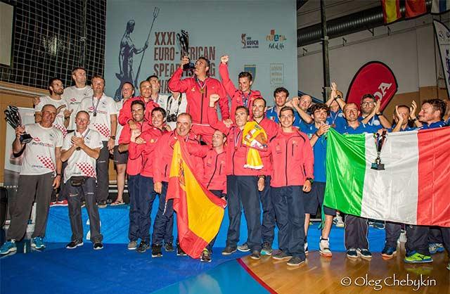 Selección española octavo oro consecutivo en el Euro-Africano